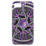 Pentacle Of The Purple Moon iPhone 5 Case