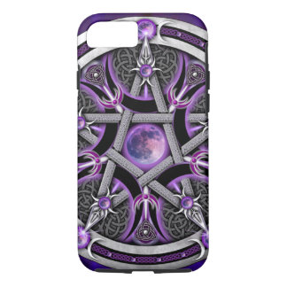 Pentacle Of The Purple Moon iPhone 8/7 Case