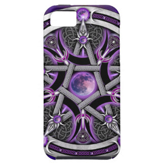 Pentacle Of The Purple Moon iPhone SE/5/5s Case