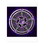 Pentacle Of The Purple Moon Postcard