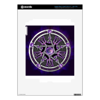 Pentacle Of The Purple Moon Decal For iPad 3