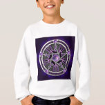 Pentacle Of The Purple Moon Sweatshirt