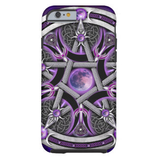 Pentacle Of The Purple Moon Tough iPhone 6 Case
