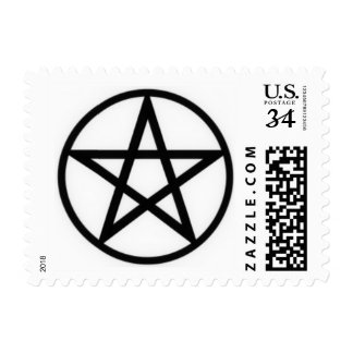 Pentacle Postage Stamps