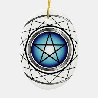 Pentacle- Religious symbol satanism Ornament