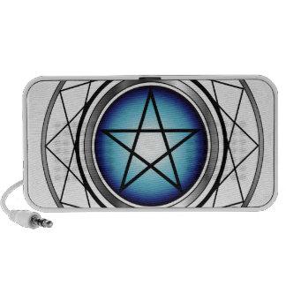 Pentacle- Religious symbol satanism iPhone Speaker