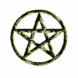Pentacle Sculpted Acrylic Products Statuette