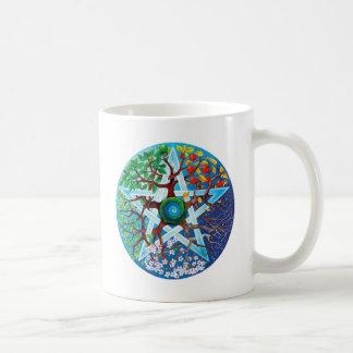 pentacle-seasons coffee mug