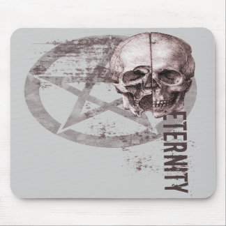 Pentacle Skull Mouse Pads