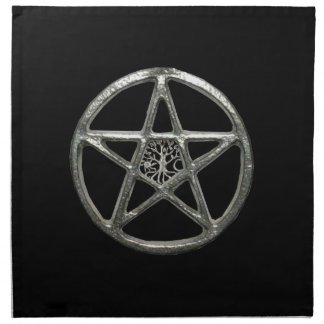 Pentacle Tree Of Life Napkins