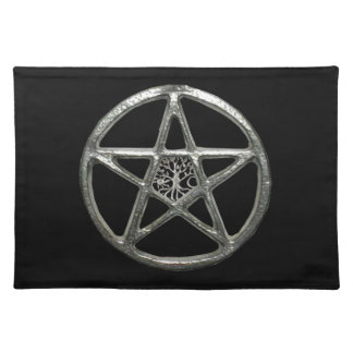 Pentacle Tree Of Life Placemat