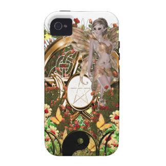 Pentacle Triple Moon Series 2 Fairy iPhone 4 Case