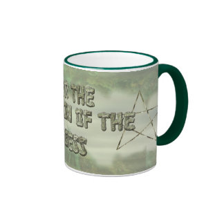 Pentacle, Undwr the Protection of the Goddess Mugs