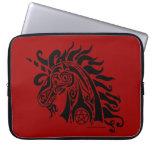 Pentacle Unicorn (black) Laptop Bag