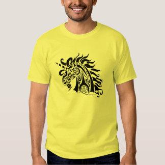 Pentacle Unicorn (black) Shirts