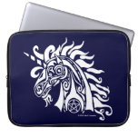 Pentacle Unicorn (white) Laptop Bag