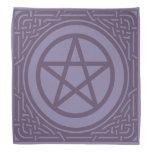 Pentacle - Violet Bandana