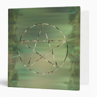 Pentacle Woods, It's a Wiccan Thing 3 Ring Binder