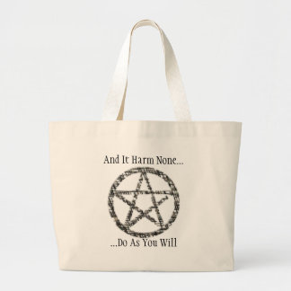 Pentacles Canvas Bag