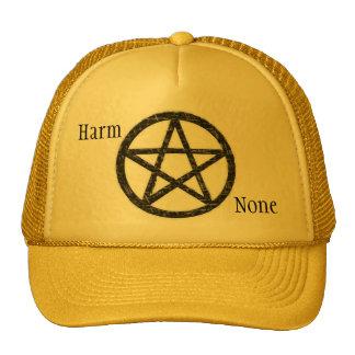 Pentacles: Black Trucker Hat