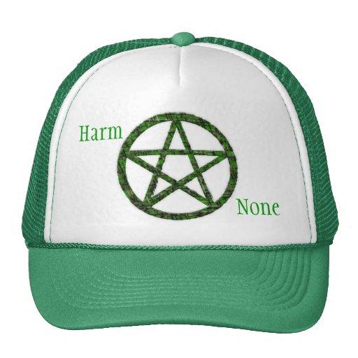 Pentacles: Green Trucker Hat