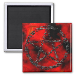 Pentacles: Tinted Threads Magnet