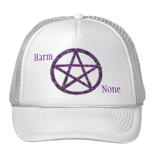 Pentacles: Violet Trucker Hat