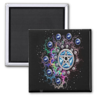 pentáculo de la nebulosa imán cuadrado