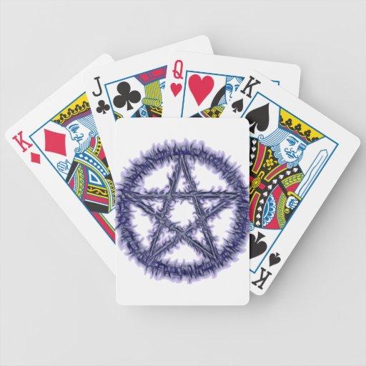 Pentáculo del agua baraja de cartas