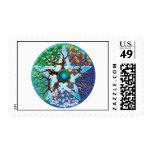 pentáculo-estaciones sellos