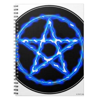 Pentáculo etéreo libretas espirales