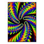 pentáculo girante 4 del arco iris tarjetón