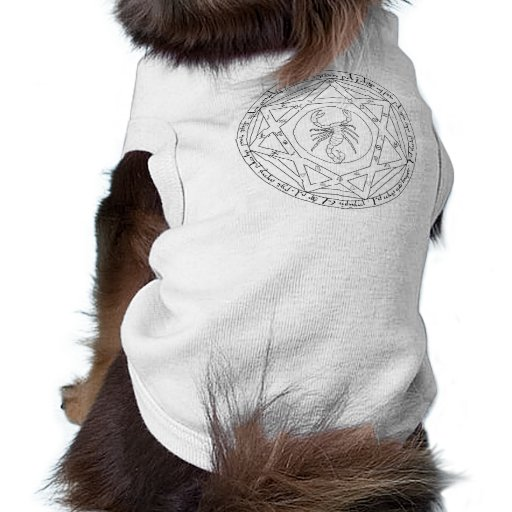 Pentáculo magnífico camiseta de perrito