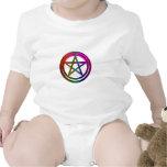 pentáculo tridimensional traje de bebé