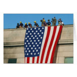 Pentagon 9/11 Flag Cards