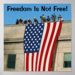 Pentagon 9 11 Flag Posters