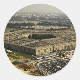 Pentagon Classic Round Sticker