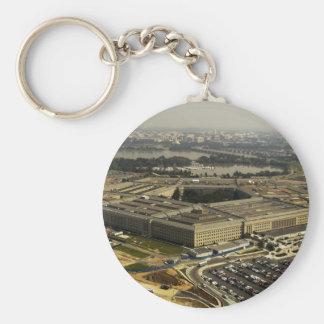 Pentagon Keychain