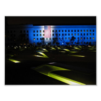 Pentagon Memorial - Arlington, Virginia Poster