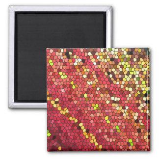 Pentagon Mosaic 2 Inch Square Magnet
