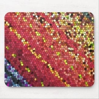 Pentagon Mosaic Mouse Pads