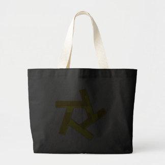 Pentagon of stars Pentagon of star Canvas Bags