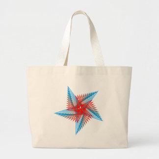 Pentagon sample Pentagon pattern Canvas Bag
