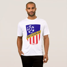 Pentagon Soccer Club Practice Shirt at Zazzle