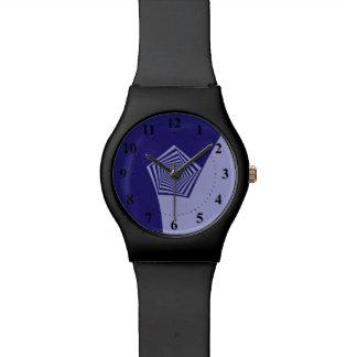 Pentagon Spiral Blues Watch