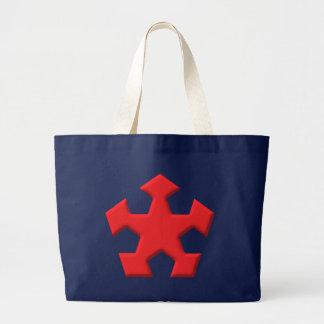 Pentagon star Pentagon star Tote Bags