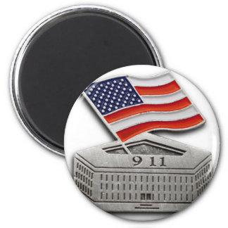 PENTAGON USA FLAG 2 INCH ROUND MAGNET