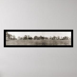 Pentágono acuartela la foto 1909 de LSU Póster