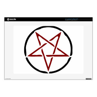 """Pentagram 15"""" Laptop Skin"""