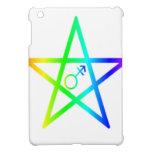 Pentagram 2 del arco iris del transexual